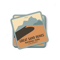 Great Sand Dunes National Park Sticker | National Park Decal - Albion Mercantile Co.