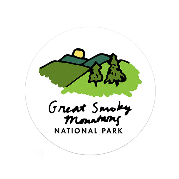 Great Smoky Mountains National Park Sticker - Albion Mercantile Co.