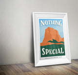 Guadalupe Mountains National Park Poster | Subpar Parks Poster - Albion Mercantile Co.