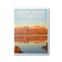 Guadalupe Mountains National Park Poster - Albion Mercantile Co.