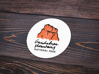 Guadalupe Mountains National Park Sticker - Albion Mercantile Co.