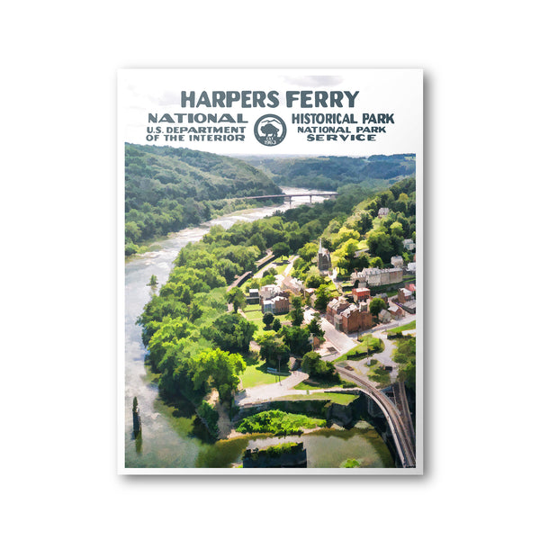 Harpers Ferry National Historical Park Poster