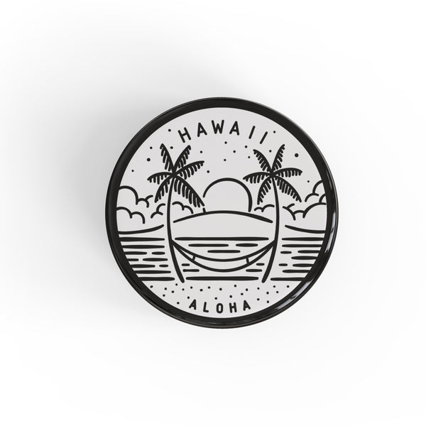 Hawaii Button Pin