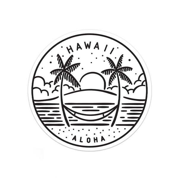 Hawaii Sticker - Albion Mercantile Co.