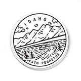 Idaho Sticker - Albion Mercantile Co.