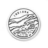 Indiana Sticker - Albion Mercantile Co.