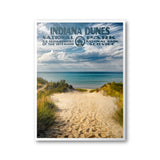 Indiana Dunes National Park Poster - Albion Mercantile Co.