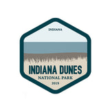 Indiana Dunes National Park Sticker - Albion Mercantile Co.