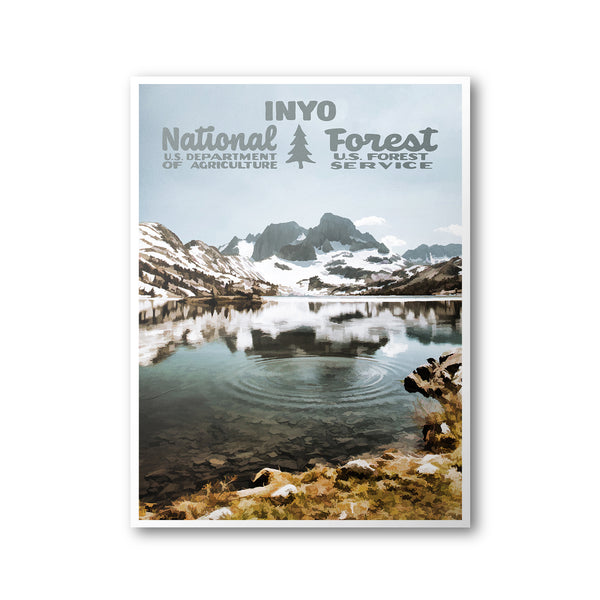 Inyo National Forest Poster