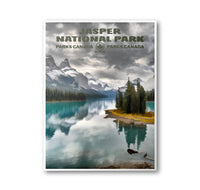 Jasper National Park Poster - Albion Mercantile Co.