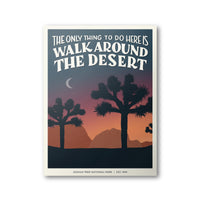 Joshua Tree National Park Poster | Subpar Parks Poster - Albion Mercantile Co.