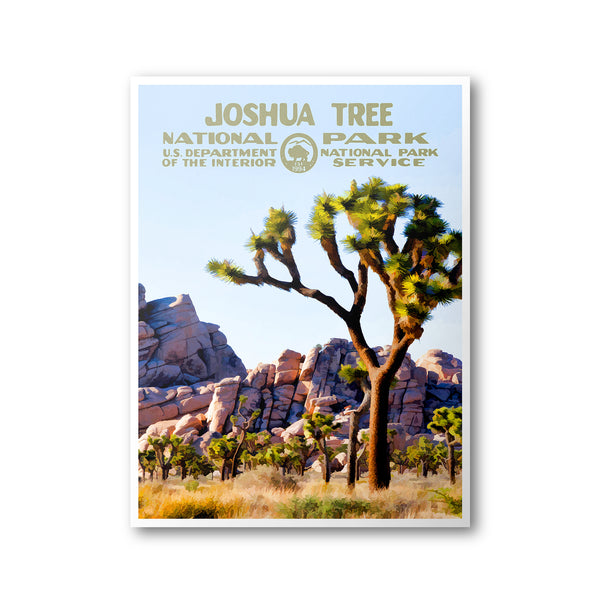 Joshua Tree National Park Poster - Albion Mercantile Co.