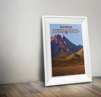 Katmai National Park Poster - Albion Mercantile Co.