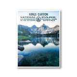 Kings Canyon National Park Poster - Albion Mercantile Co.