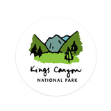 Kings Canyon National Park Sticker - Albion Mercantile Co.