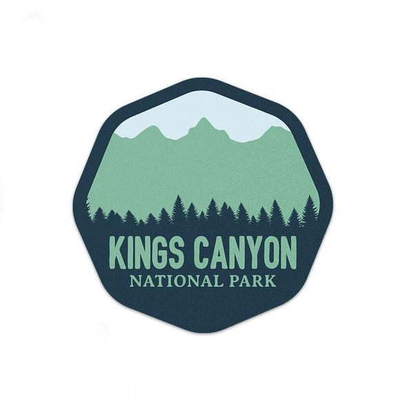 Kings Canyon National Park Sticker | National Park Decal - Albion Mercantile Co.