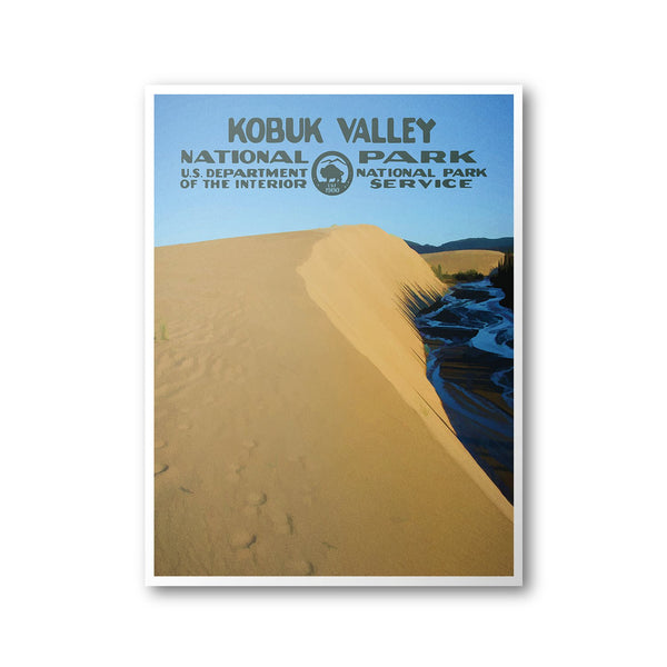Kobuk Valley National Park Poster - Albion Mercantile Co.