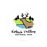 Kobuk Valley National Park Sticker - Albion Mercantile Co.
