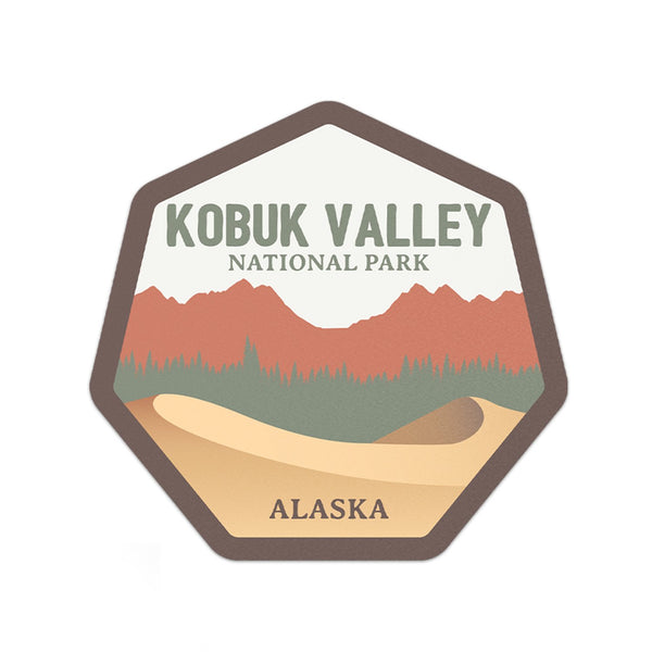 Kobuk Valley National Park Sticker | National Park Decal - Albion Mercantile Co.