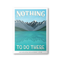 Lake Clark National Park Poster | Subpar Parks Poster - Albion Mercantile Co.