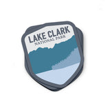 Lake Clark National Park Sticker | National Park Decal - Albion Mercantile Co.