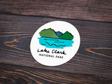Lake Clark National Park Sticker - Albion Mercantile Co.