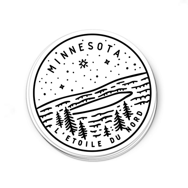 Minnesota Sticker - Albion Mercantile Co.