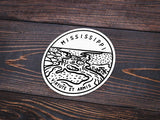 Mississippi Sticker - Albion Mercantile Co.