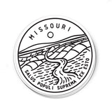 Missouri Sticker - Albion Mercantile Co.
