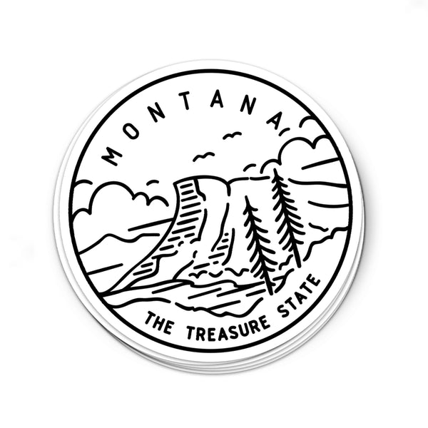 Montana Sticker - Albion Mercantile Co.