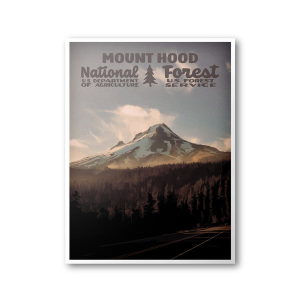 Mount Hood National Forest Poster
