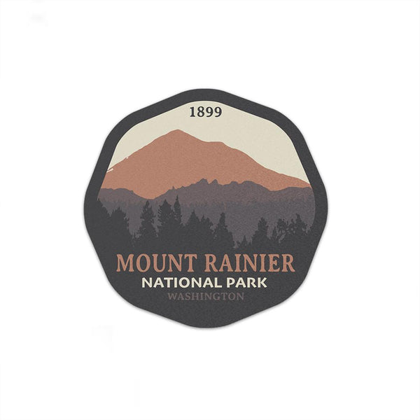 Mount Rainier National Park Sticker - Albion Mercantile Co.
