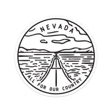 Nevada Sticker - Albion Mercantile Co.