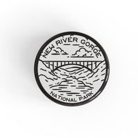 New River Gorge National Park Button Pin