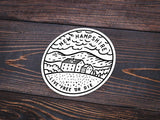 New Hampshire Sticker - Albion Mercantile Co.