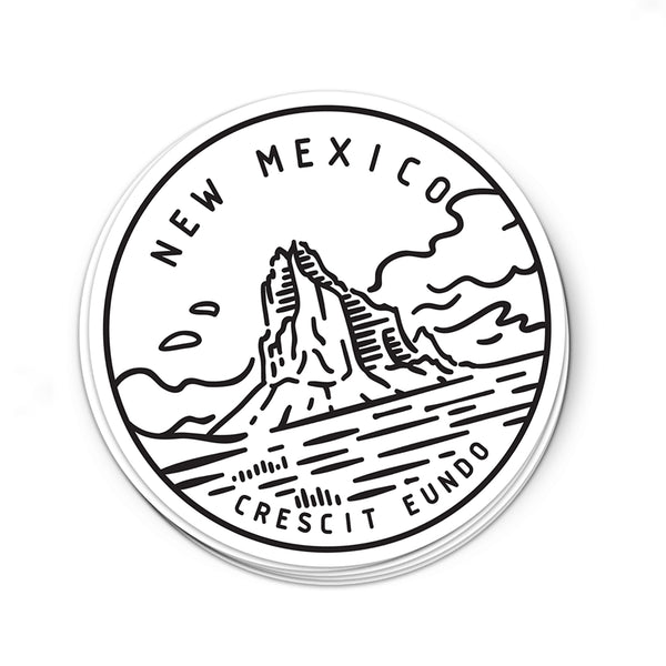 New Mexico Sticker - Albion Mercantile Co.