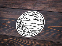North Carolina Sticker - Albion Mercantile Co.
