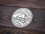 North Dakota Sticker - Albion Mercantile Co.