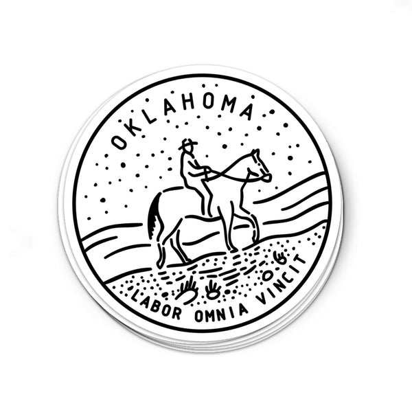 Oklahoma Sticker - Albion Mercantile Co.
