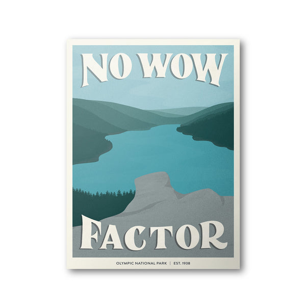 Olympic National Park Poster | Subpar Parks Poster - Albion Mercantile Co.