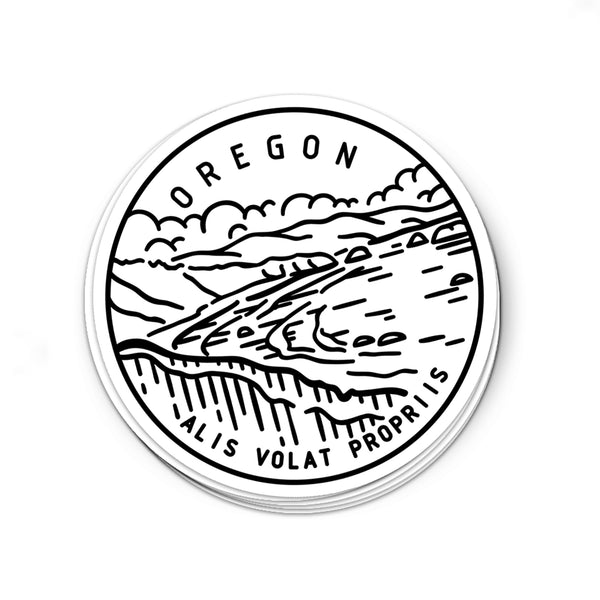 Oregon Sticker - Albion Mercantile Co.