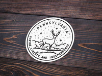 Pennsylvania Sticker - Albion Mercantile Co.