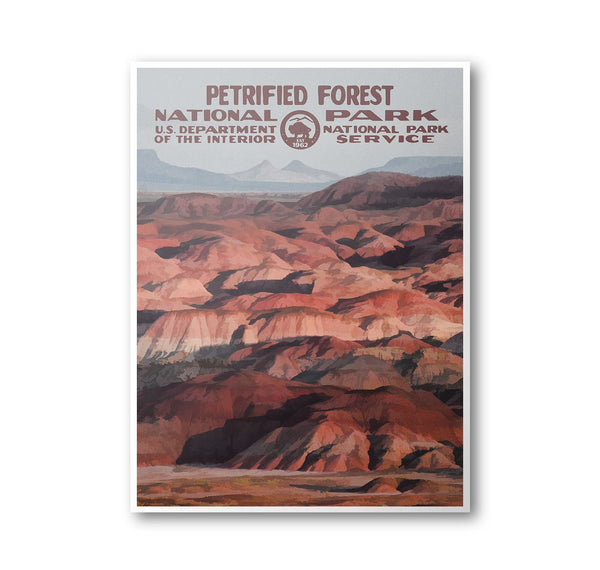 Petrified Forest National Park Poster - Albion Mercantile Co.