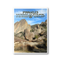 Pinnacles National Park Poster - Albion Mercantile Co.