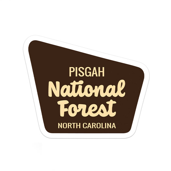 Pisgah National Forest Sticker
