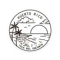 Puerto Rico Sticker - Albion Mercantile Co.