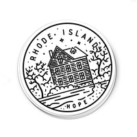 Rhode Island Sticker - Albion Mercantile Co.