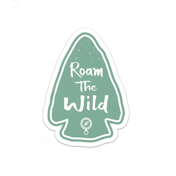 Roam The Wild Sticker