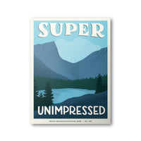 Rocky Mountain National Park Poster | Subpar Parks Poster - Albion Mercantile Co.