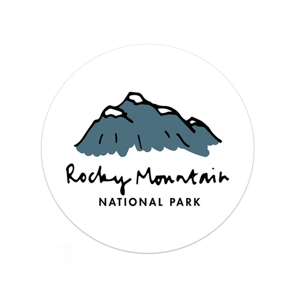 Rocky Mountain National Park Sticker - Albion Mercantile Co.